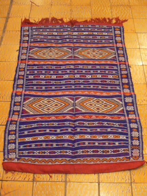 Abdelhak : marchand de tapis u00e0 Chefchaouen au Maroc